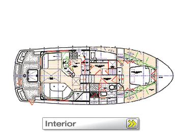 Nordhavn 40 interior