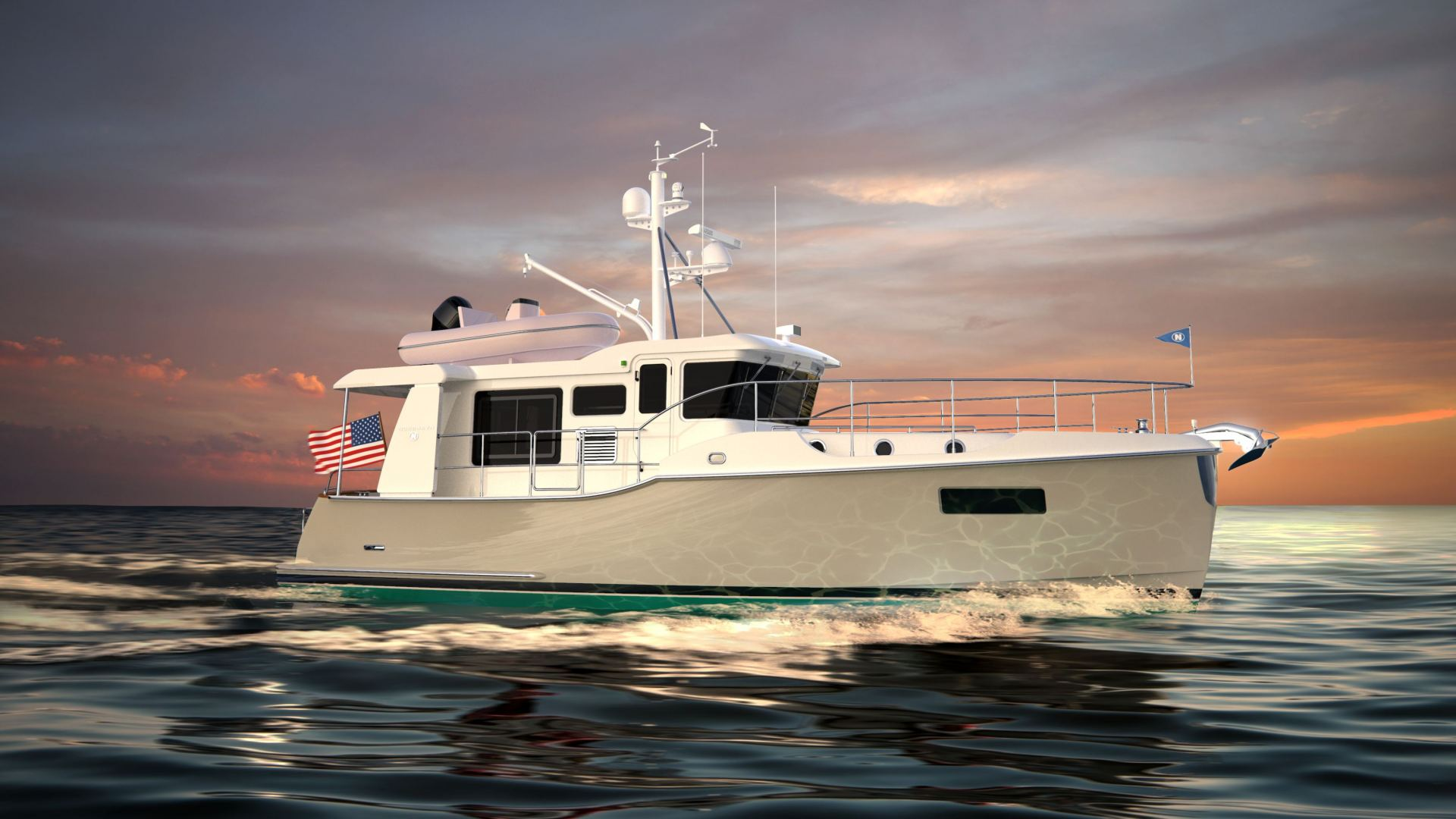 Home of the world's most capable Trawler Yachts - Nordhavn