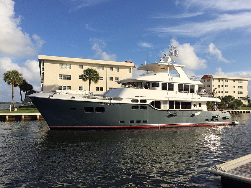 N96 Arrival in Florida