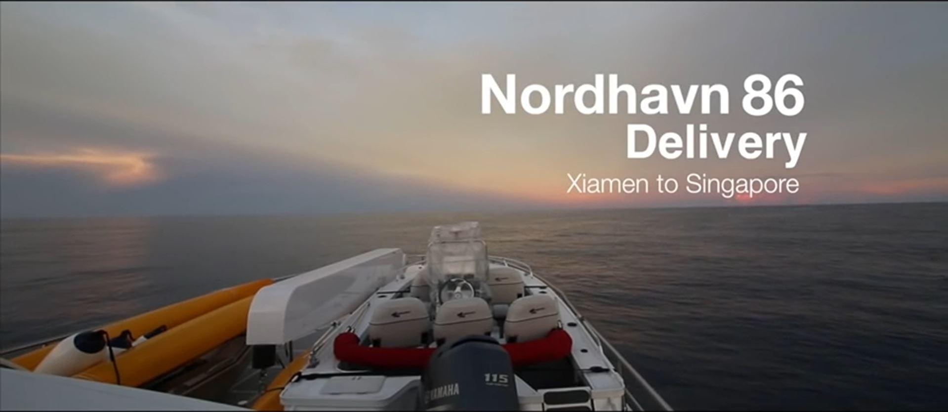 Nordhavn 86 delivery